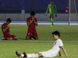 Indonesia Vs Laos Menang 4-0, Garuda Muda ke Semifinal SEA Games