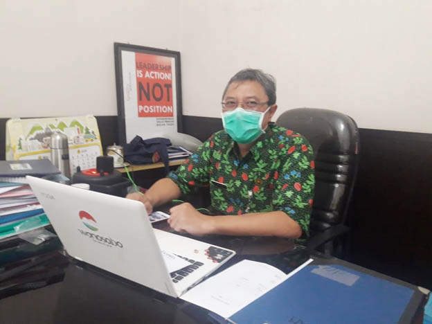 Caption- Plt Dinkes Wonosobo, dr. Moh Riyatno