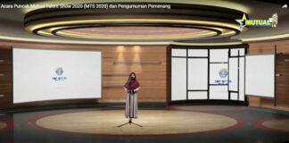 KOMPETISI. Pelajar SD/MI unjuk kebolehan di Mutual Talent Show Award 2020.