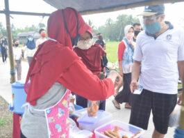 Foto: GELIAT PASAR RAKYAT. Geliat pasar rakyat di tengah pandemi masih terlihat di Pasar Tiban Dalling Kledung Karangdalem Kabupaten Purworejo,