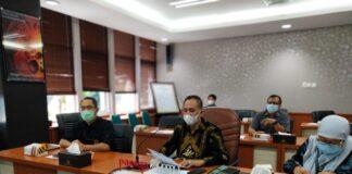SIARAN PERS. Kanwil DJP Jawa Tengah II melakukanSiaran Pers Capaian Peneriman Pajak Tahun 2020 secara virtual,
