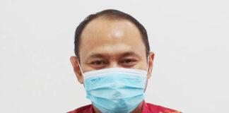 Sekretaris III Satuan Tugas Penanganan Covid-19 Temanggung Dwi Sukarmei
