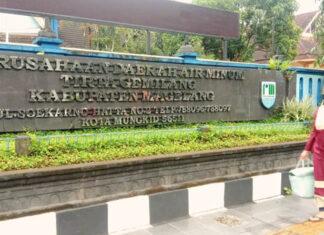 DISKON. PDAM Kabupaten Magelang bantu masyarakat dalam program diskon pemasangan baru.