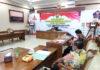 RAKOR. Bupati Magelang, Zaenal Arifin saat Rakor-Pok akhir triwulan IV TA 2020 didampingi para Asisten.