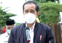 Di Kalsel, Jokowi Minta Perbaiki Infrastruktur