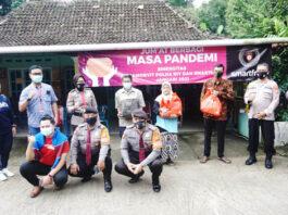 Smartfren Berikan Bantuan Sembako untuk Dusun Wisata Mangiran