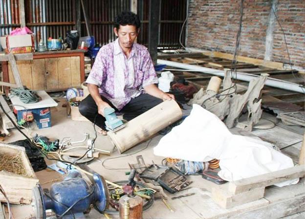 Kakian. handycraft bambu poktan gemah ripah 1