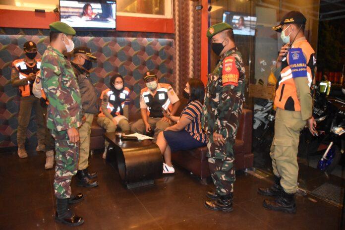 OPERASI. Tim Gabungan Satgas Covid-19 Kabupaten Wonosobo kembali gencarkan operasi penertiban jam malam di era pandemi ini
